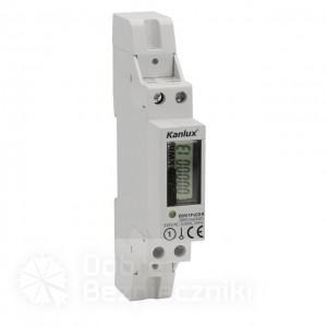 wskaźnik zużycia energii EDM 1P LCD R, wskaźnik zużycia energii